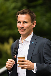 Downing Sreet, London, July14th 2015. Health Secretary Jeremy Hunt arrives at 10 Downing street for the government's weekly cabinet meeting.