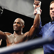 Welterweight boxing pro Cecil Mccalla of Baltimore, MD defeats Welterweight boxing pro Francisco Reza by knock out Friday, Nov 21, 2014 at The Case Center on The River Front in Wilmington, Del.