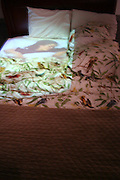 Jennifer Burton, Bed, Installation