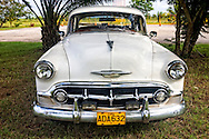 Old car in Moron, Ciego de Avila, Cuba.