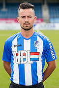 EINDHOVEN - Persdag FC Eindhoven , Voetbal , Seizoen 2015/2016 , Jan Louwers stadion , 22-07-2015 , Maxime Gunst