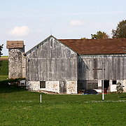 A collection of Barns that still can be seen while traveling the countryside in  the beautiful State of Wisconsin.<br /> Washington County- Barn on Hwy 33 and Hwy 175.