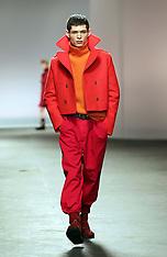 JAN 7 2013 Topman show at London Menswear Fashion Week A/W 2012