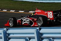Bruno Junqueira, Camping World Indy Grand Prix at the Glen, Watkins Glen International, Watkins Glen, NY USA 6/7/08
