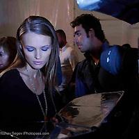 backstage scene at Michael Kors - during Mercede's Benz Fashion Week Spring 2010 on September 13, 2009. ..