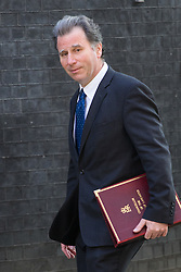 Downing Street, London, May 17th 2016. Chancellor of the Duchy of Lancaster and Policy Advisor Oliver Letwin arrives at the weekly cabinet meeting in Downing Street.