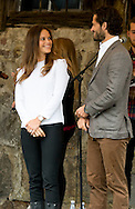 26-8-2015  SWEDEN - ARVIKA Prince Carl Philip and Princess Sofia visit  The nature reserve Byamossarna , Arvika during day 1 . Two day visit of Prince Carl Philip and Princess Sofia's official visit to Värmland . COPYRIGHT ROBIN UTRECHT