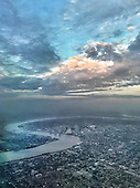 CITY OF NEW ORLEANS FROM THE AIR 2016