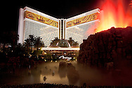 The Mirage Volcano Show, Las Vegas, Nevada