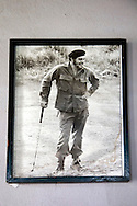 Golfing Che in San Andres, Holguin, Cuba.
