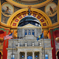 Montana State Capitol Building Composite in Helena, Montana<br />