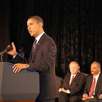 President Barack Obama - Columbus Police Academy Graduation - March 6, 2009