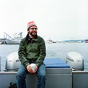 HOMER, AK - 2008: Anchorage, Alaska based photographer Loren Holmes.