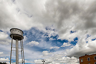 Fairview Montana, water tower