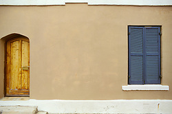 Bermuda doorway shutter window..