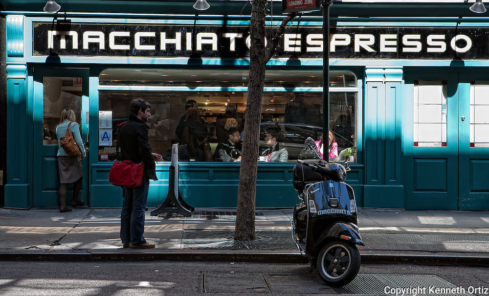 Espresso Bar on 44th Street in Midtown Manhattan.