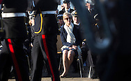 Image licensed to Lloyd Images<br /> The Royal Yacht Squadron Fleet Review. Cowes. Isle of Wight. UK. As part of 200th anniversary of the Royal Yacht Squadron. The Countess of Wessex<br /> Credit - Lloyd Images