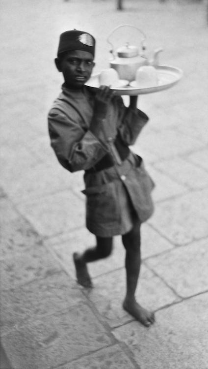 Tea Boy at Shahabad Railway Station, India, 1929