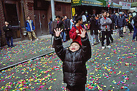 Chinese New Year celebration in Chinatown, NY