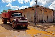 Truck in Alquizar, Artemisa Province, Cuba.