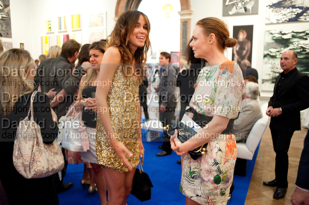 NATHALIE SWANSON; STELLA MCCARTNEY, Royal Academy Summer Exhibition 2009 preview party. royal academy of arts. Piccadilly. London. 3 June 2009.