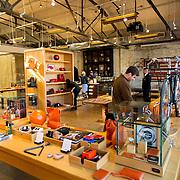 DETROIT, MI - OCTOBER, 30: The Shinola store in Detroit, Michigan, Thursday, October 30, 2014. (Photo by Jeffrey Sauger )