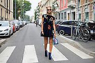 Chiara Ferragni at Fendi SS2017
