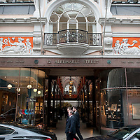 The Arcade on Albemarle Street in Mayfair, London, UK.