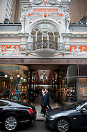 The Arcade on Albemarle Street in Mayfair, London, UK.