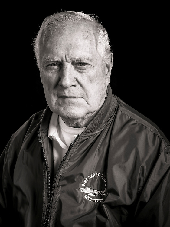Willie served as an F-86 pilot in Korea.