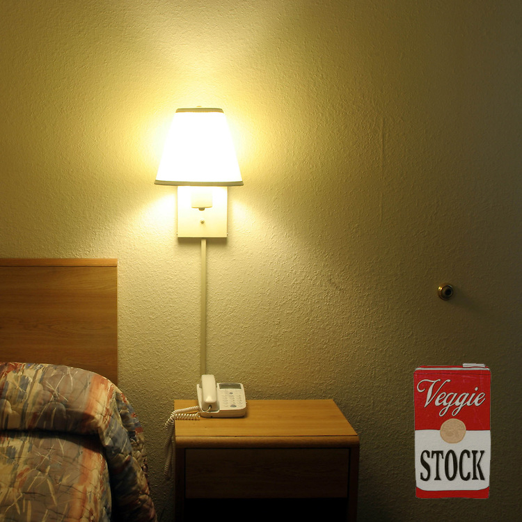 Motel in Tennessee, USA, 2004.