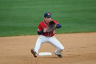 Ole Miss' Alex Yarbrough (2) at Oxford-University Stadium in Oxford, Miss. on Sunday, March 6, 2010. Tulane won 3-1.