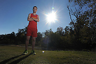 Lafayette High cross country runner Derek Hart, in Oxford, Miss. on Wednesday, November 2, 2011, will compete in the state championship on Saturday..