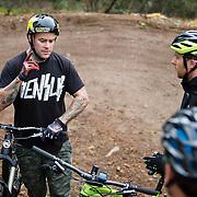 Jordie Lunn coaching MTB Canada Coaches Bear Mountain Bike Park Oct, 2015