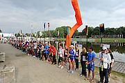 Amsterdam, NETHERLANDS,Opening ceremony,  2011 FISA U23 World Rowing Championships, Wednesday, 20/07/2011 [Mandatory credit:  Intersport Images].