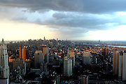 ' Something Wicked This Way Comes ', A view from the 60th Floor of Chase Building, NYC