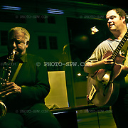 Ernie Butler and Florian perfler performing raw Blues.