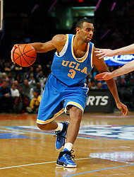 Nov 21, 2008; New York, NY, USA; UCLA Bruins forward Josh Shipp (3) drives with the ball during second half action of the 2K Sports Classic consolation game at Madison Square Garden. UCLA defeated Southern Illinois 77-60.