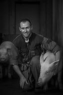 22/12/16 - LORLANGES - HAUTE LOIRE - FRANCE - Portrait de Julien BAR -Photo Jerome CHABANNE - Photo Jerome CHABANNE