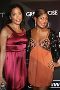 l to r: Keija Minor and Jocelyn Taylor at The 2008 Urbanworld Film Festival and BET Networks Afterparty saluting Fashion & Film at Espace on September 13, 2008