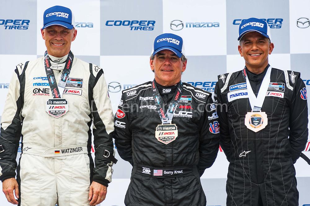 #55 JDC Motorsports Elan DP-02: Gerry Kraut, #32 ONE Motorsports Elan DP-02: Gerhard Watzinger