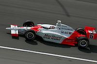 Sam Hornsih Jr. at the Kansas Speedway, Kansas Indy 300, July 3, 2005