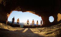 JenMarie Warr, Puma & Morgan, Kely, Demetrios Brinkmann & Oihanna Garcia at Shaman Cave, Sedona