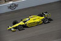 Ed Carpenter, Indianapolis 500 practice, Indianapolis Motor Speedway, Indianapolis, IN USA 5/14/2011-5/29/2011