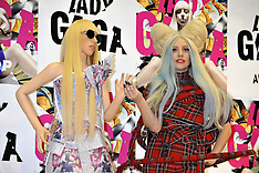 DEC 01 2013 Lady Gaga press conference in Japan