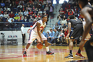 "Mississippi's Jarvis Summers (32) vs. Missouri at the C.M. ""Tad"" Smith Coliseum in Oxford, Miss. on Saturday, February 8, 2014. Mississippi won 91-88."