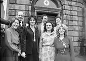 Nurses At Irish Red Cross Society