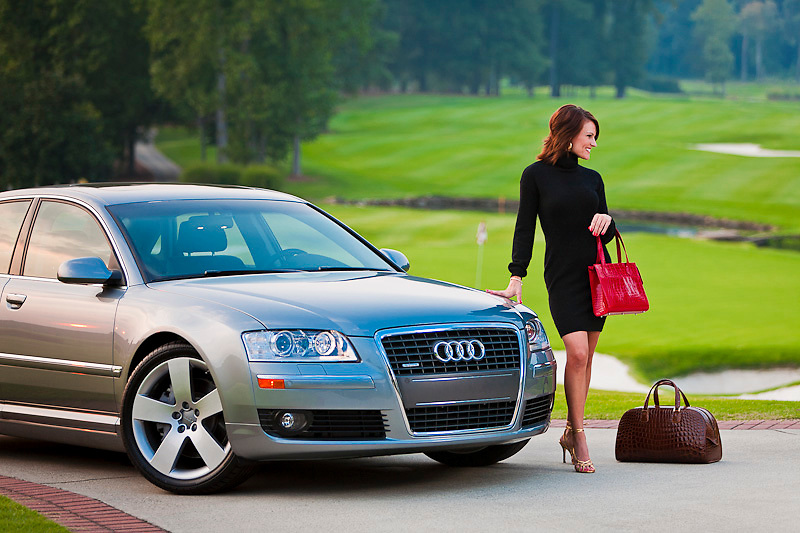Images created for the Avid Golfer Luxury issue, to be published in October, 2006.  Shot at Atlanta National Golf Club.