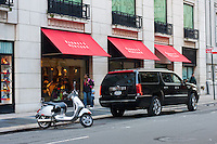 barneys on fifth avenue in New York City in October 2008