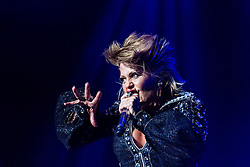 INGLEWOOD, CA - JUNE 6: Mexican Rock singer Alejandra Guzman performed an impressive show at the Fabulous Forum in Inglewood, California, USA on 6 June, 2015. This was the first show of the US Rock Recargado Tour. Byline, credit, TV usage, web usage or linkback must read SILVEXPHOTO.COM. Failure to byline correctly will incur double the agreed fee. Tel: +1 714 504 6870.